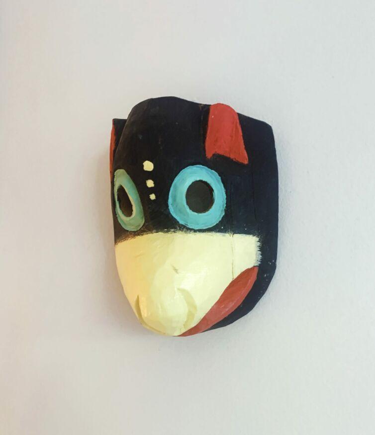 Mexicansk unika træmaske // Mus
