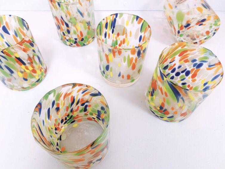 Colori Murano drikkeglas