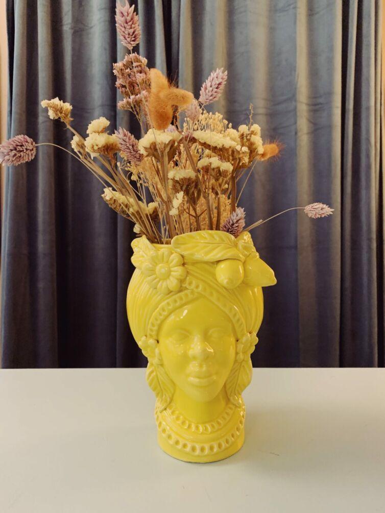 Italiensk hovedvase // Donna Giallo