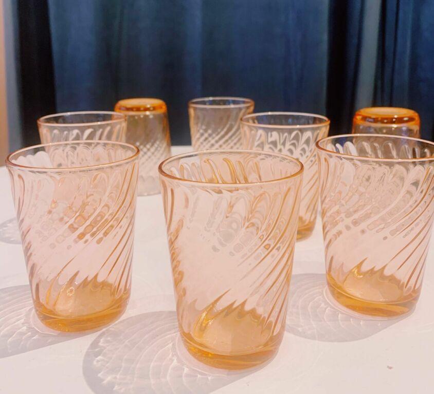 Små franske glas