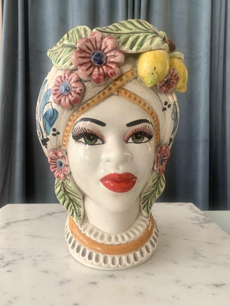 Regina Flora Rosa ~ stor hovedvase