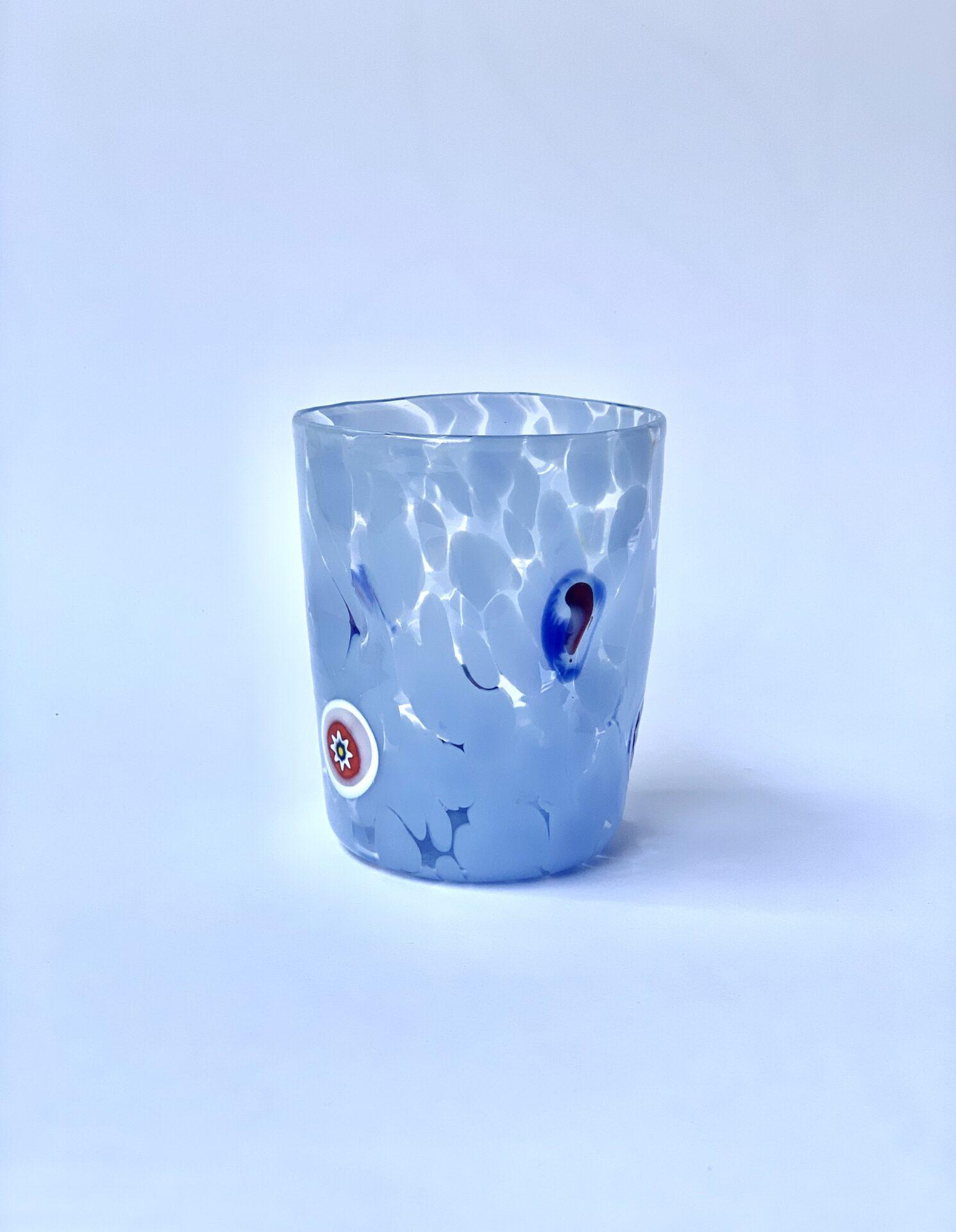 Murano Millefiori ~ Blå