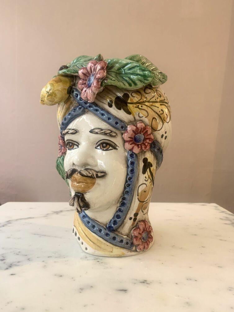 Sultan Giallo Flora ~ Medium